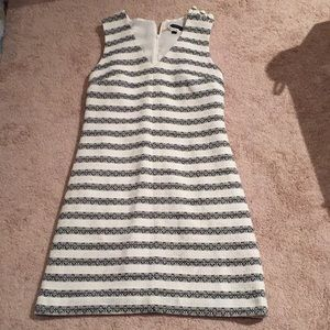 JCREW dress with button detailing
